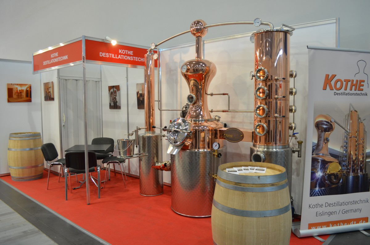 Company stand KOTHE Destillationstechnik-Madra on trade show POLAGRA FOOD 2016