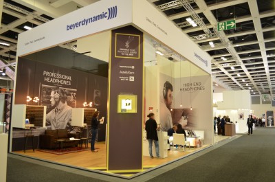 Company stand Beyerdynamic GmbH & Co. KG on trade show IFA BERLIN 2016