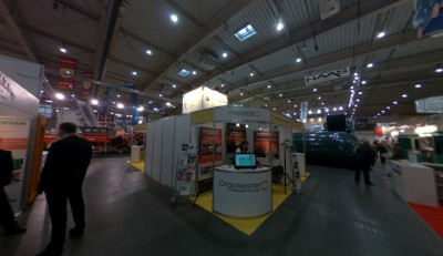 Company stand ORGLMEISTER Infrarot-Systeme on trade show POLEKO 2013