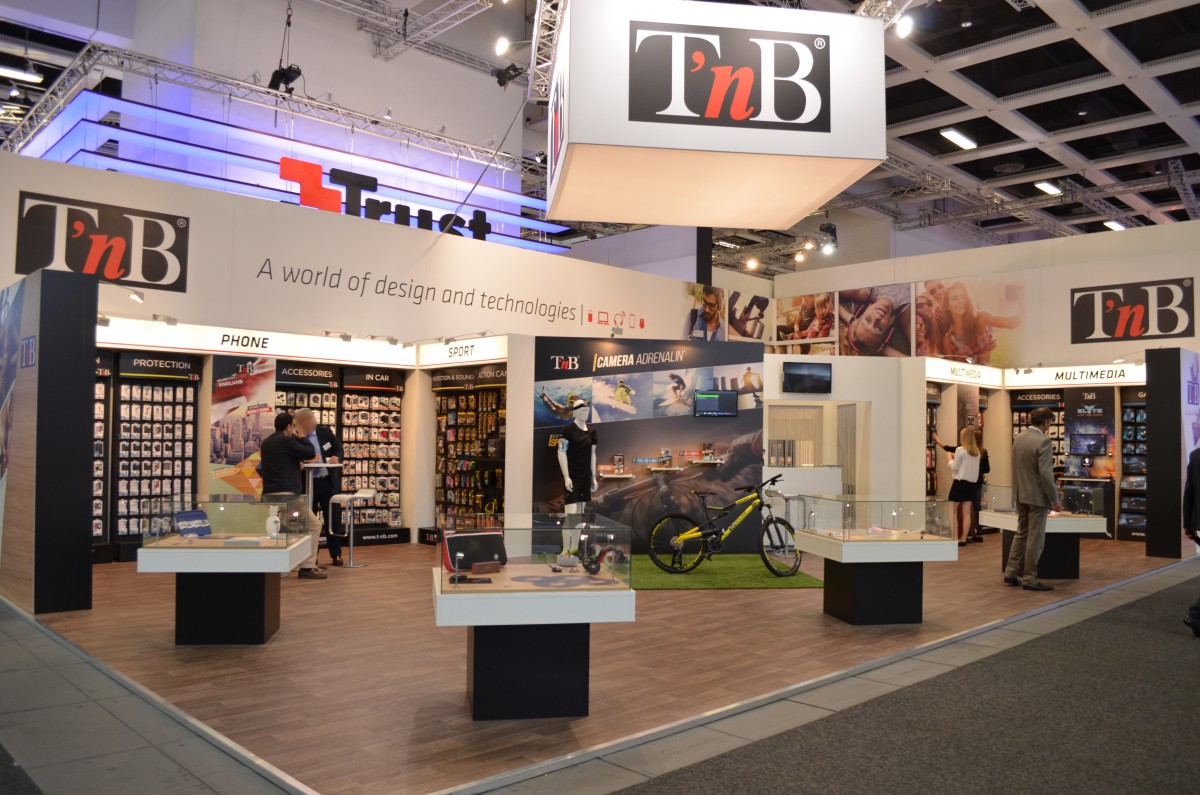 Company stand T'nB SA France on trade show IFA BERLIN 2016
