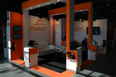 Company stand FOODSOFT.PL on trade show POLAGRA GASTRO & INVEST HOTEL 2016