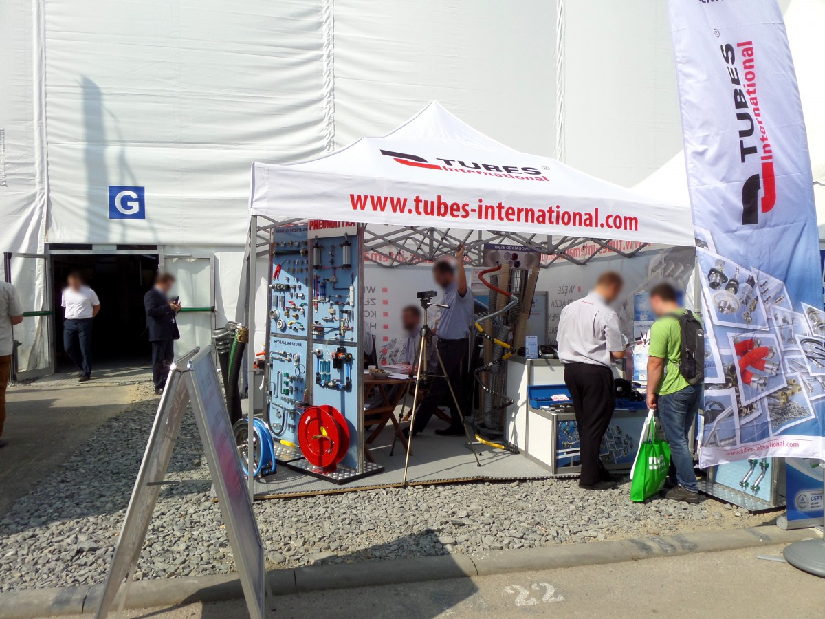 Company stand TUBES International Sp. z o.o. on trade show ENERGETAB 2016