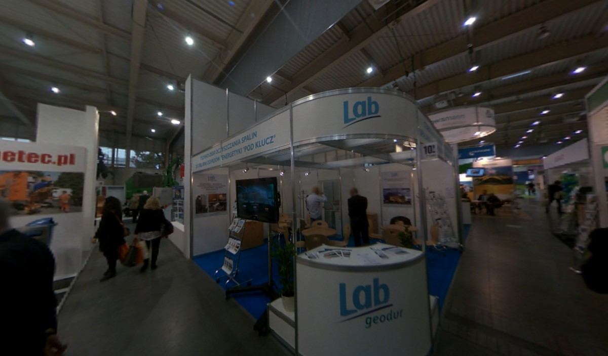 Company stand LAB GmbH on trade show POLEKO 2013