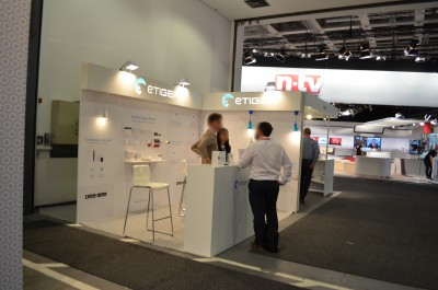 Company stand ETIGER EUROPE - French Office on trade show IFA BERLIN 2016