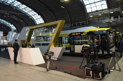 Company stand SOLARIS BUS & COACH S.A. on trade show TRANSEXPO & MOTO-TECH 2016