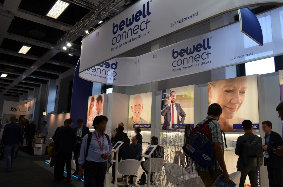 Company stand BewellConnect on trade show IFA BERLIN 2016