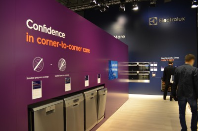 Company stand Electrolux Hausgeräte GmbH on trade show IFA BERLIN 2016