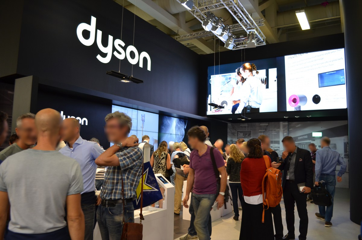 Company stand Dyson GmbH on trade show IFA BERLIN 2016