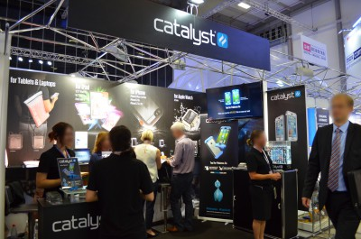 Company stand Catalyst on trade show IFA BERLIN 2016