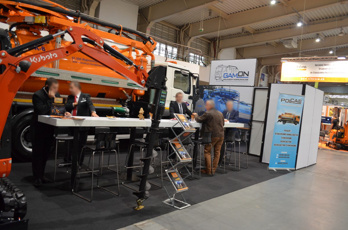 Company stand POLCAB N. Gamoń Sp.j. on trade show POL-ECO-SYSTEM 2016