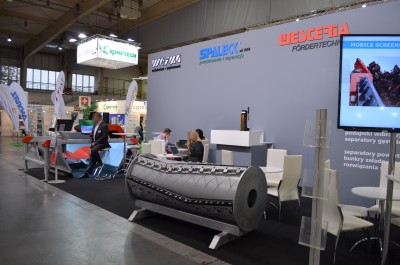 Company stand SPALECK GmbH & Co. KG on trade show POL-ECO-SYSTEM 2016