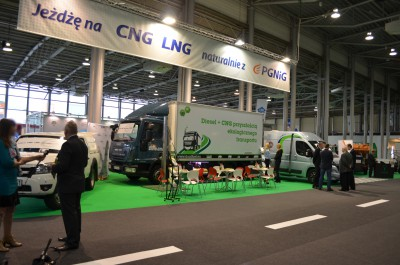 Company stand CNG Auto on trade show POL-ECO-SYSTEM 2016