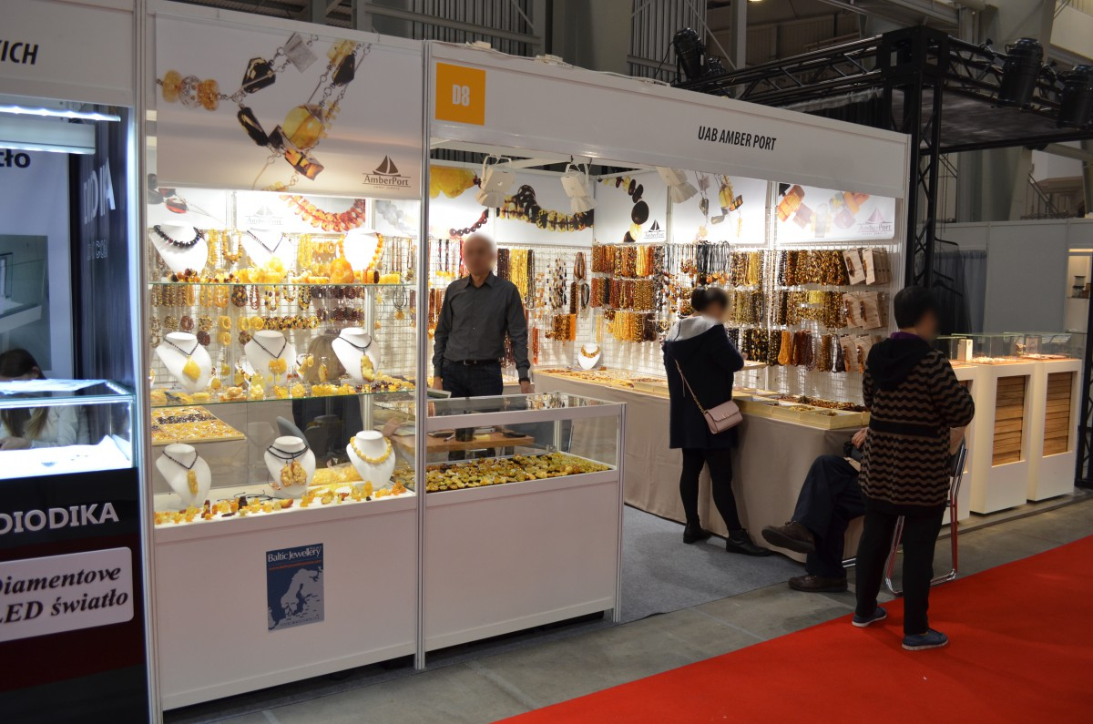 Company stand Amber Port on trade show ZŁOTO SREBRO CZAS 2016