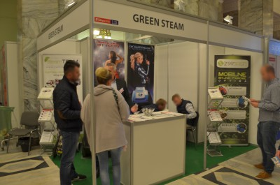 Company stand Green Steam Sp. z o.o. on trade show Franczyza 2016