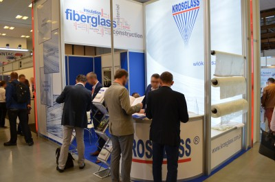 Company stand KROSGLASS S.A. on trade show KOMPOZYT-EXPO 2016