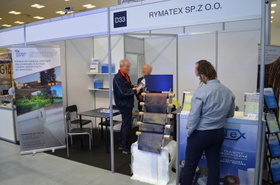 Company stand RYMATEX Sp. z o.o. on trade show KOMPOZYT-EXPO 2016