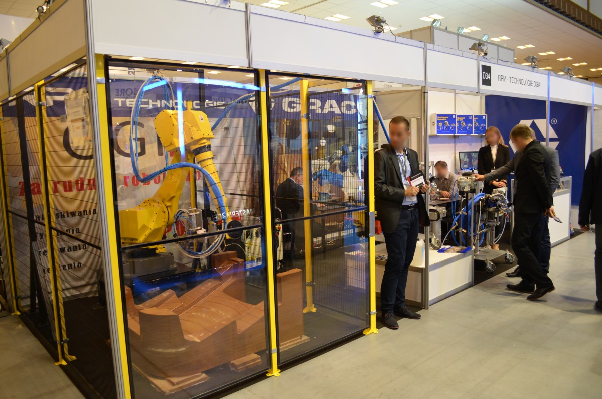 Company stand Rpm Technologie A.R. Palacz S.C. on trade show KOMPOZYT-EXPO 2016