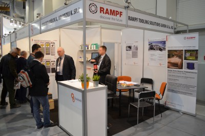 Company stand RAMPF Holding GmbH & Co. KG on trade show KOMPOZYT-EXPO 2016
