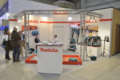 Company stand Makita Sp. z o.o. on trade show WorldHotel 2016