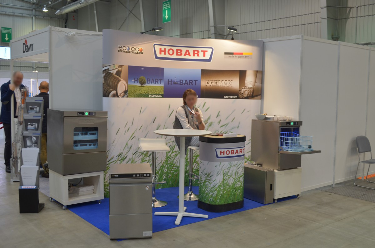 Company stand Hobart GmbH on trade show WorldHotel 2016