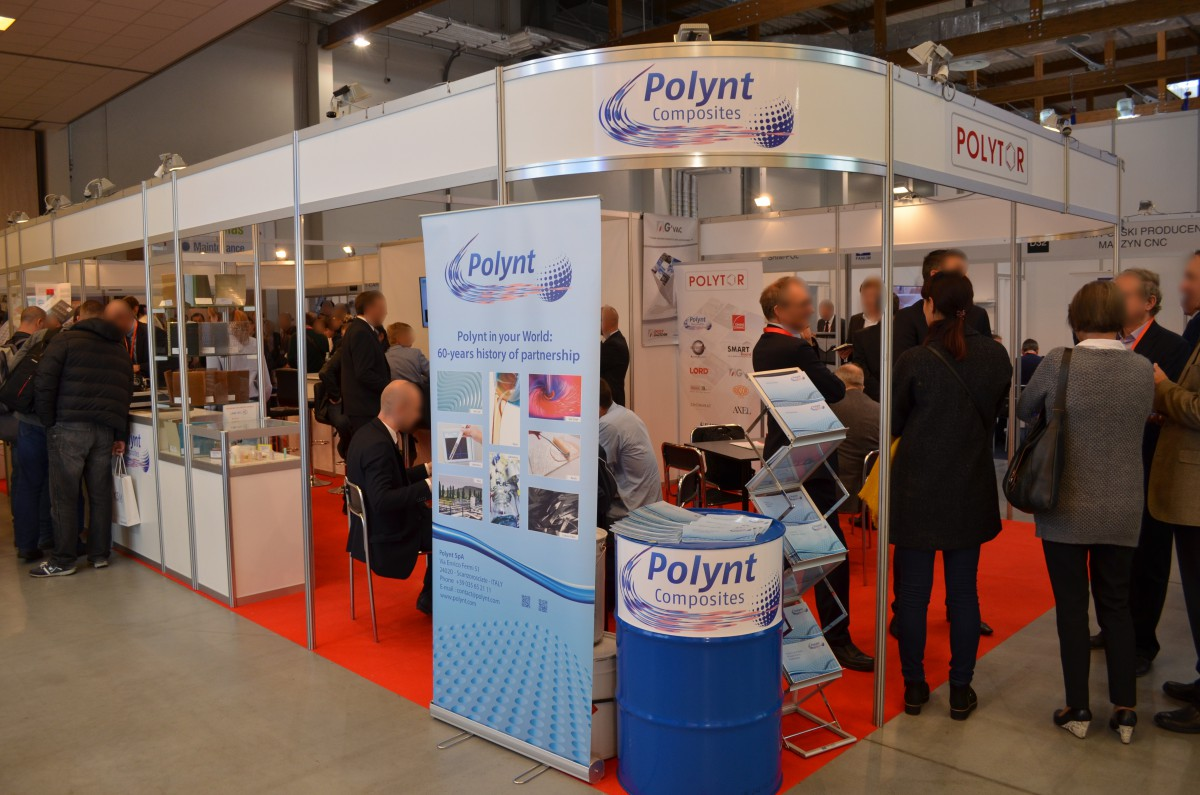 Company stand LORD on trade show KOMPOZYT-EXPO 2016