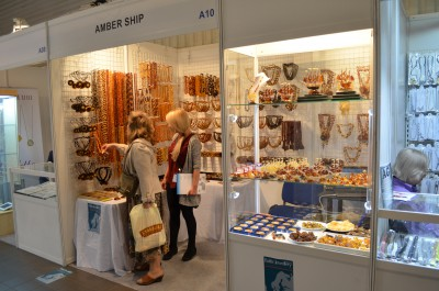 Company stand Amber Ship on trade show GOLD EXPO 2016