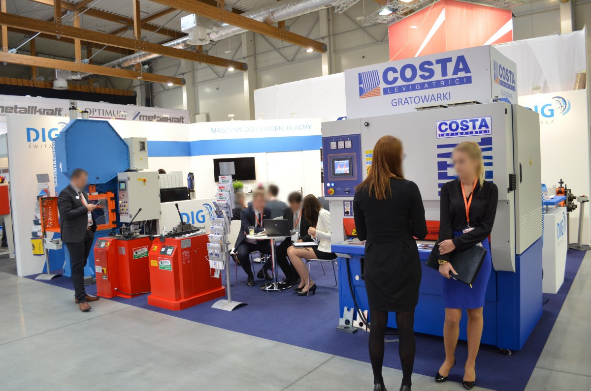 Company stand COSTA LEVIGATRICI S.p.A. on trade show EUROTOOL & BLACH-TECH-EXPO 2016