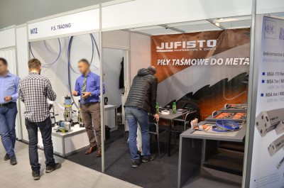 Company stand P.S.TRADING - Stolker Peter, Sp.j. on trade show EUROTOOL & BLACH-TECH-EXPO 2016