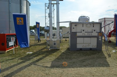 Company stand ZUPTOR Sp. z o.o. on trade show AGROSHOW 2016
