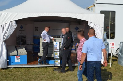 Company stand IBF POLSKA Sp. z o.o. on trade show AGROSHOW 2016
