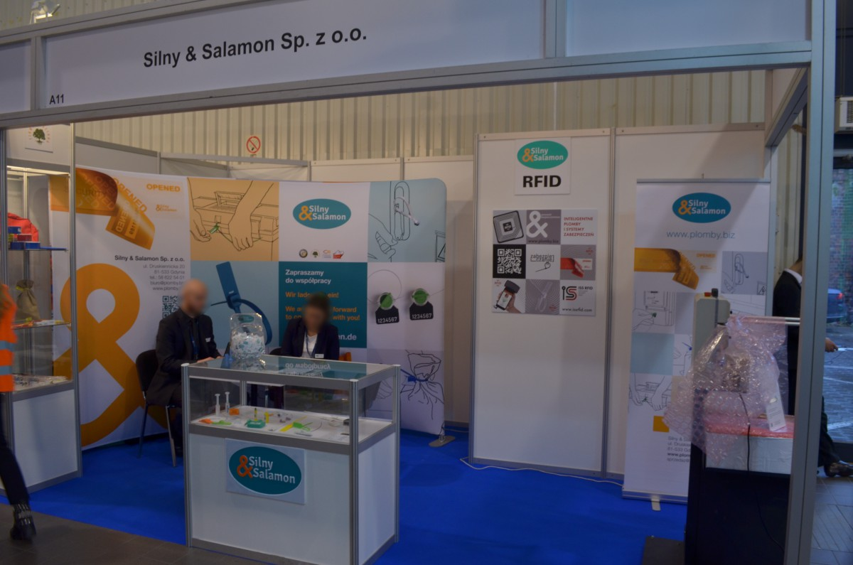 Company stand SILNY & SALAMON Sp. z o.o. on trade show Trans Poland 2016