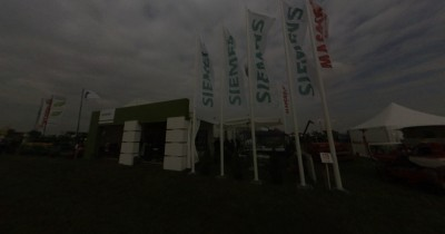 Company stand SIEMENS Sp. z o.o on trade show AGROSHOW 2013