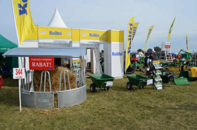 Company stand KELLFRI Sp. z o.o. on trade show AGROSHOW 2016