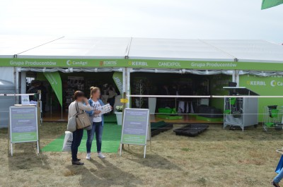 Company stand CanAgri Sp. z o.o. on trade show AGROSHOW 2016
