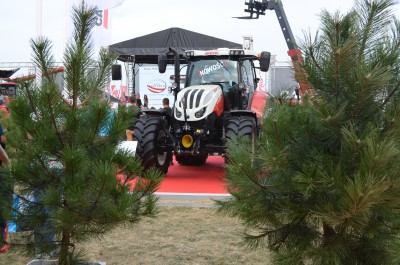Company stand Case IH Polska on trade show AGROSHOW 2016