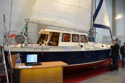 Company stand HABER YACHTS sp. z o.o. on trade show Boatshow 2016