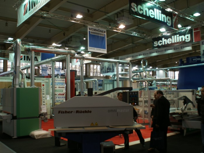 Company stand WEMHÖNER SURFACE TECHNOLOGIES GmbH & Co. KG on trade show DREMA 2011