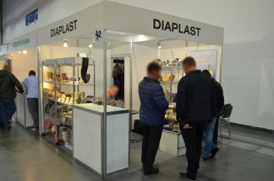 Company stand DIAPLAST on trade show STONE 2016