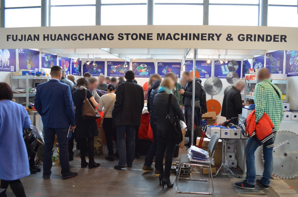 Stoisko firmy FUJIAN HUANGCHANG Stone Machinery and Grinder Co., Ltd na targach STONE 2016