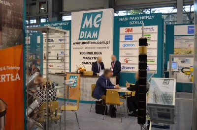 Company stand MC DIAM Sp. z o.o. on trade show STONE 2016
