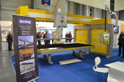 Company stand GMM SPA on trade show STONE 2016