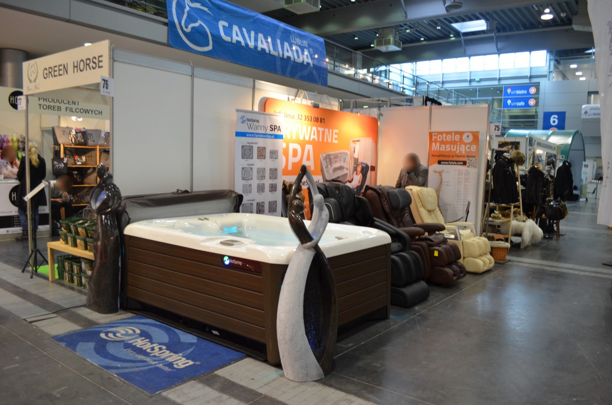 Company stand Pro-Wellness on trade show CAVALIADA POZNAŃ 2016