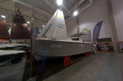 Company stand Ahoj Czarter on trade show BOATSHOW 2012