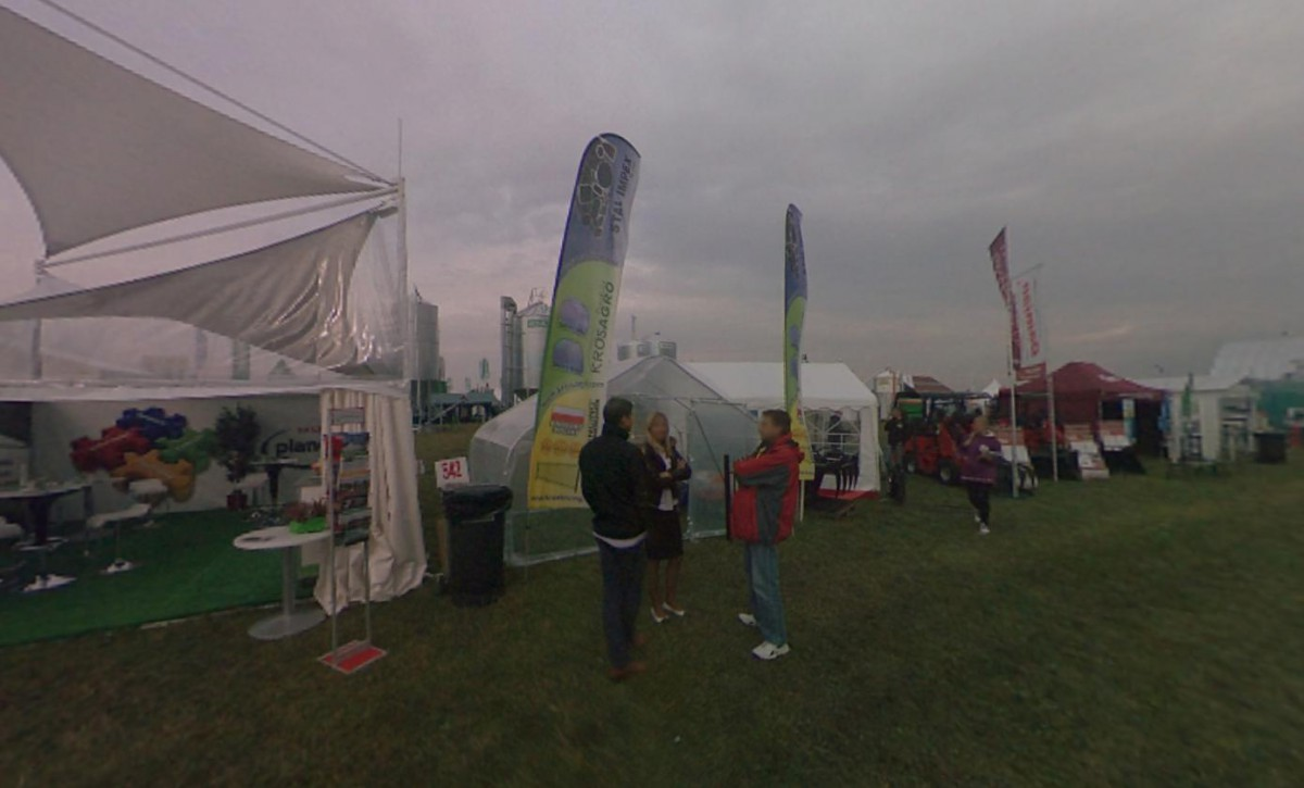 Company stand Stal Impex Sp. z o.o. on trade show AGROSHOW 2013