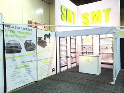SMT Expo Booth System