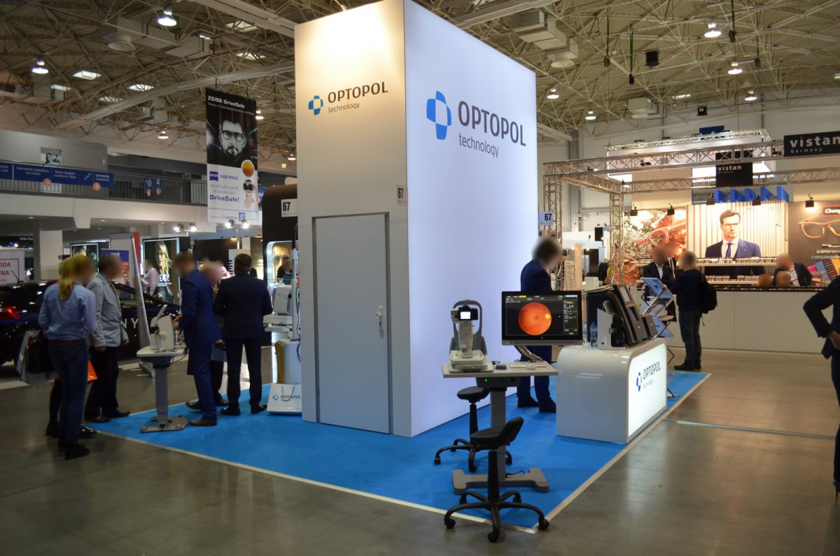 Company stand OPTOPOL Technology Sp. z o.o. on trade show OPTYKA 2016