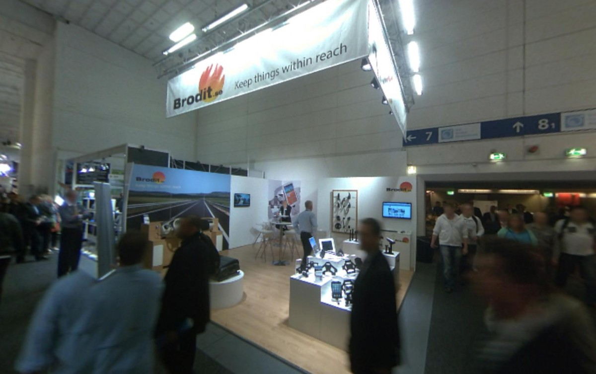 Company stand Brodit AB on trade show IFA BERLIN 2013