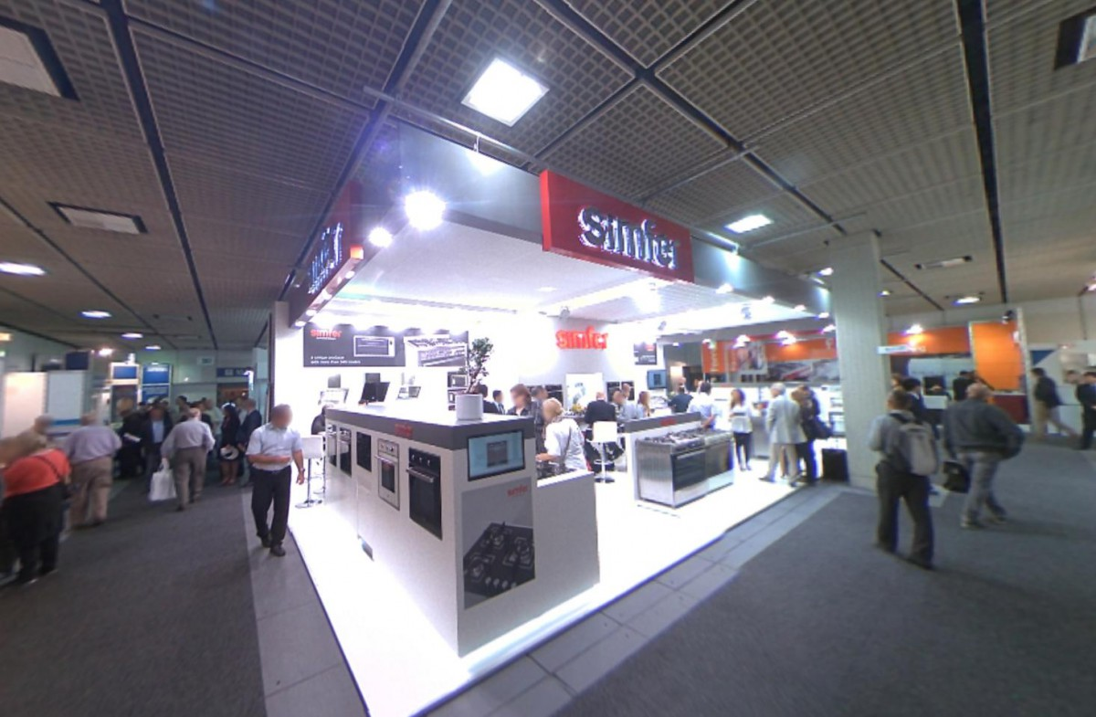 Company stand Simfer Ic ve dis Tic. Ltd. Sti on trade show IFA BERLIN 2013