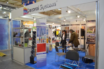 Company stand DECORAL SYSTEM s.r.l. - DECORATION PLANT on trade show BUDMA 2017