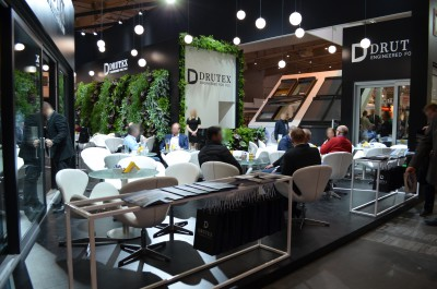 Company stand DRUTEX SA on trade show BUDMA 2017